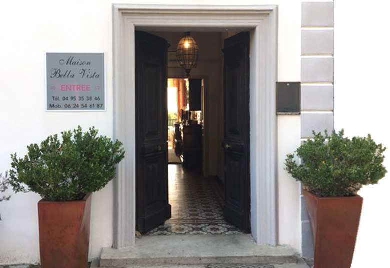Maison Bella Vista chambre d'hôtes en Corse
